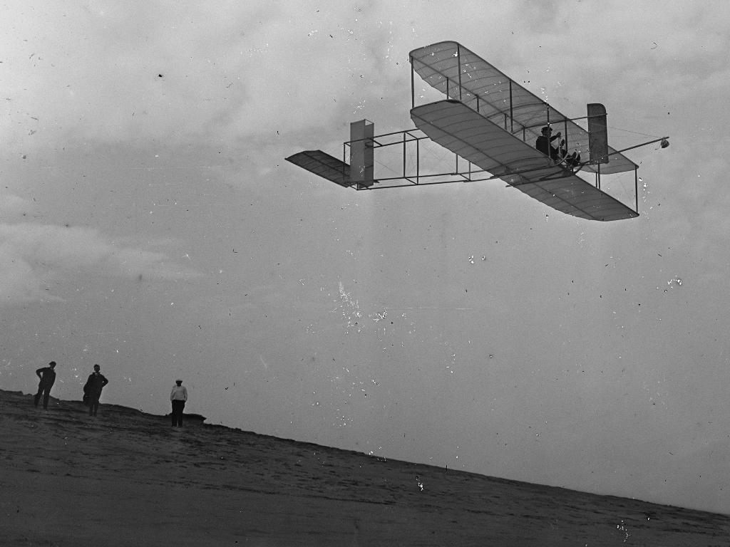 The Wright Brother's Glider