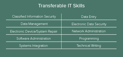 Transferable IT Skills