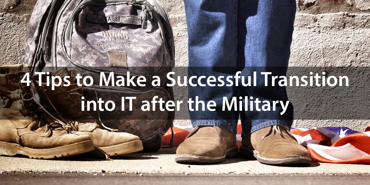Transitioning from the Military to IT